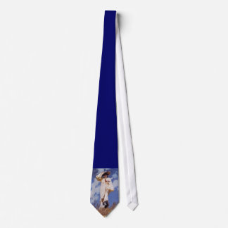 A Gust of Wind by John Singer Sargent Neck Tie