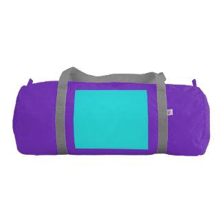 a gym duffel bag
