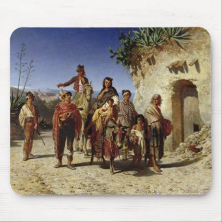 A Gypsy Family on the Road, c.1861 Mouse Pad
