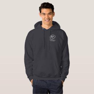 A+ H.E.L.P. Dark Grey Hooded Sweatshirt
