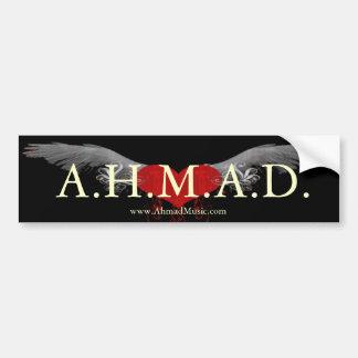 A.H.M.A.D. Bumper Sticker Car Bumper Sticker