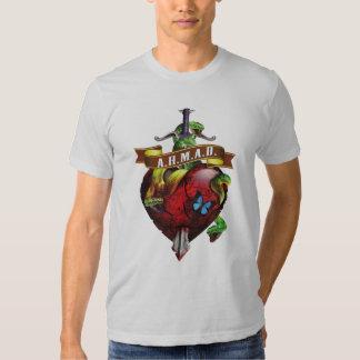 A.H.M.A.D. Dagger 'n' Heart w Butterfly Shirt
