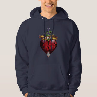 A.H.M.A.D. Snake 'n' Dagger Hoodie! Hooded Pullover