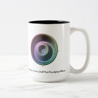 A Hairline Crack Shall Not Proselytize Phase I Two-Tone Coffee Mug