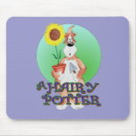 A hairy potter. mouse pad