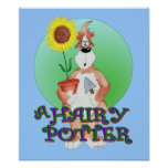A hairy Potter Poster