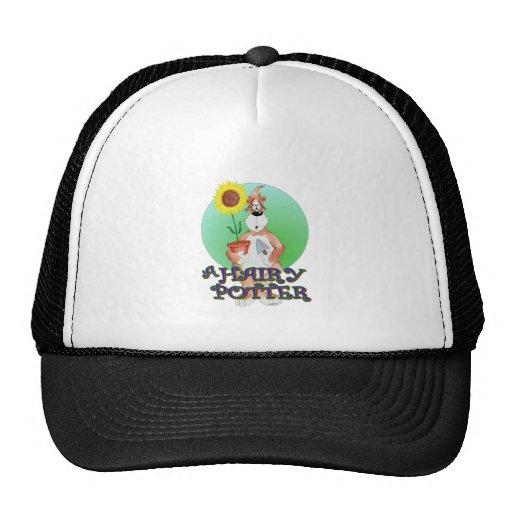 A hairy potter. trucker hat