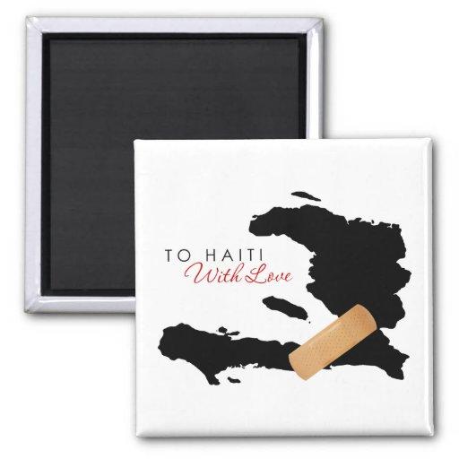 A Haití, con amor Imán De Frigorifico