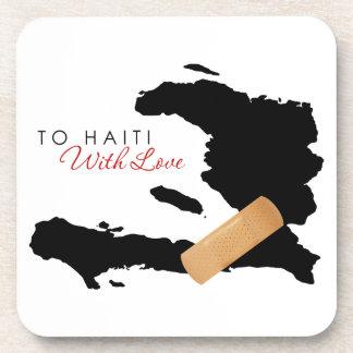 A Haití con amor Posavasos