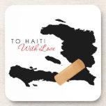 A Haití, con amor Posavasos