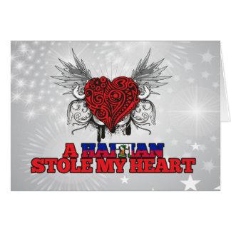 A Haitian Stole my Heart Card