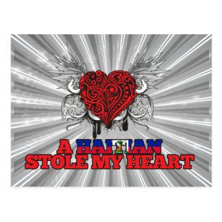 A Haitian Stole my Heart Postcard