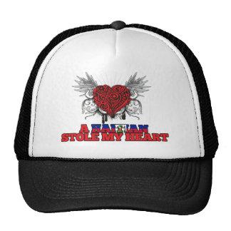 A Haitian Stole my Heart Trucker Hat