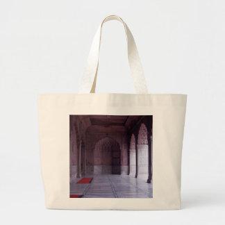 A hall inside the Jama Masjid Canvas Bag