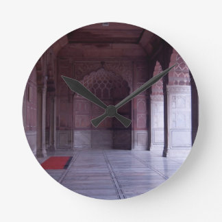 A hall inside the Jama Masjid Round Clocks