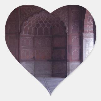 A hall inside the Jama Masjid Stickers