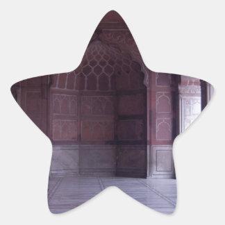 A hall inside the Jama Masjid Star Sticker