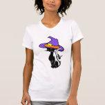 A Halloween Black Cat Tee Shirt