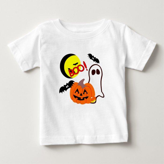 A Halloween Ghost Friends Baby T-Shirt