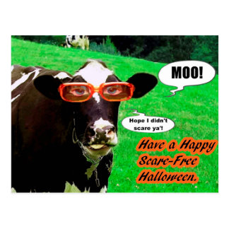 A Halloween Greeting Postcard
