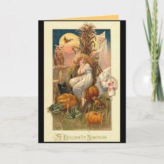 A Halloween Nightmare Card card