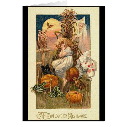 A Halloween Nightmare Card