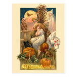 A Hallowe'en Nightmare Postcard