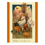 A Halloween Nightmare Postcard