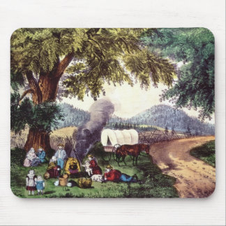 A Halt by the Wayside Mouse Pad