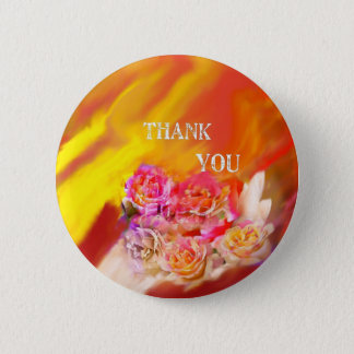 A hand full of thanks tends toward you. button