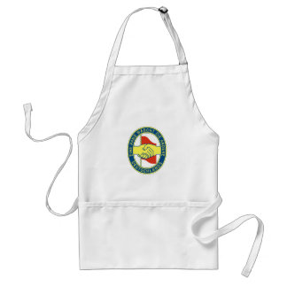 A hand washes the other one! adult apron