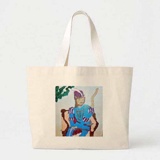 A handsome gentleman cat bag