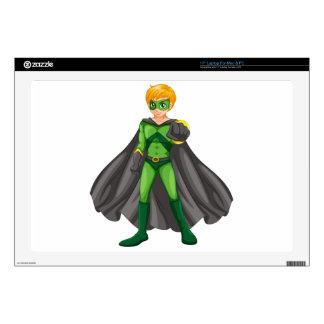 A handsome superhero skins for laptops
