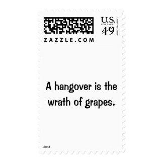 A Hangover Postage