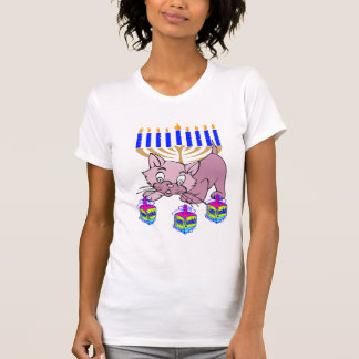 A Hanukkah Kitty T-Shirt