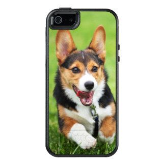 A Happy And Energetic Pembroke Welsh Corgi Puppy OtterBox iPhone 5/5s/SE Case