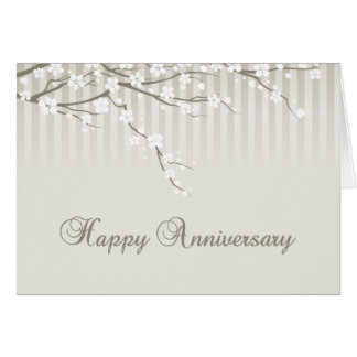 A Happy Anniversary Greeting Card