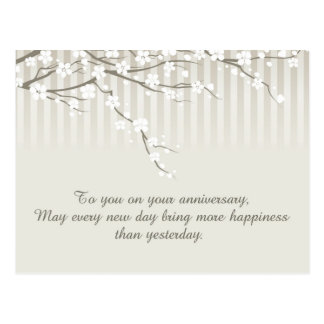 A Happy Anniversary Postcard