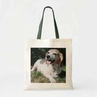 A Happy Beagle Tote Bag