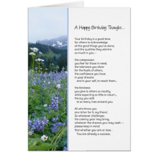 A Happy Birthday Thought...Religious Card