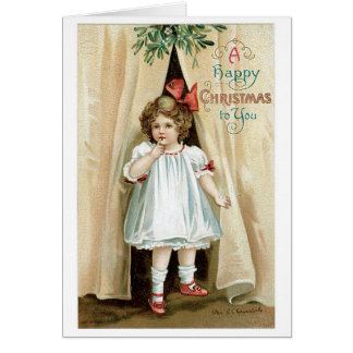 A Happy Christmas to You - Ellen Clapsaddle Card