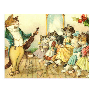 A Happy Christmas to You Postcard