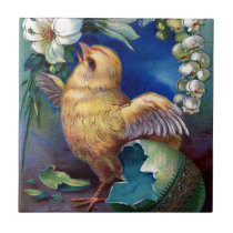 A Happy Easter Ceramic Tile