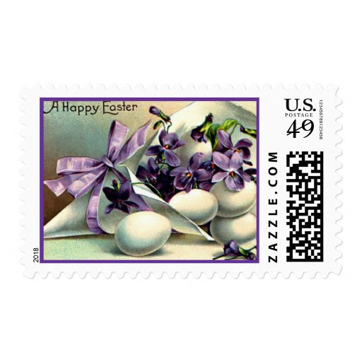 A Happy Easter Stamp
