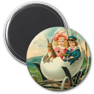 A Happy Easter To You Eggshell Car Fridge Magnet