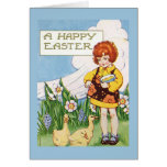 """""""A Happy Easter"""" Vintage Card"""