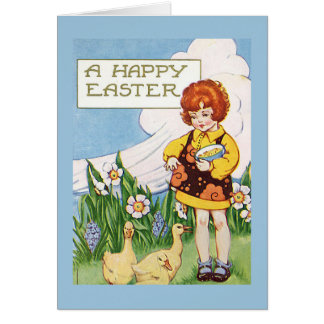 A Happy Easter Vintage Cards