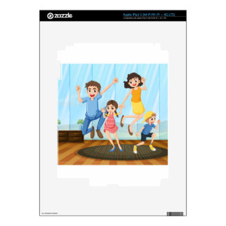 A happy family decal for iPad 3