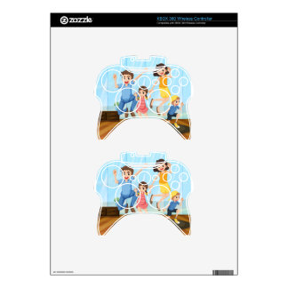 A happy family xbox 360 controller skin