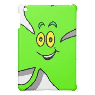 a happy green clover for saint patrics day iPad mini covers
